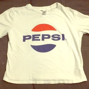 Pepsi crop top by Divided